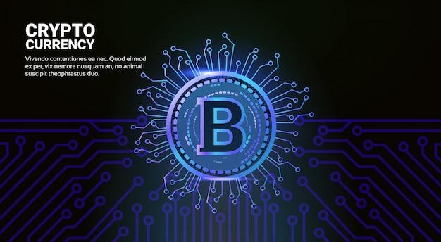 Concepto de moneda crypto