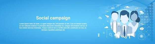 Concepto de negocio de marketing banner web horizontal