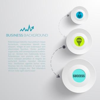 Concepto de negocio minimalista