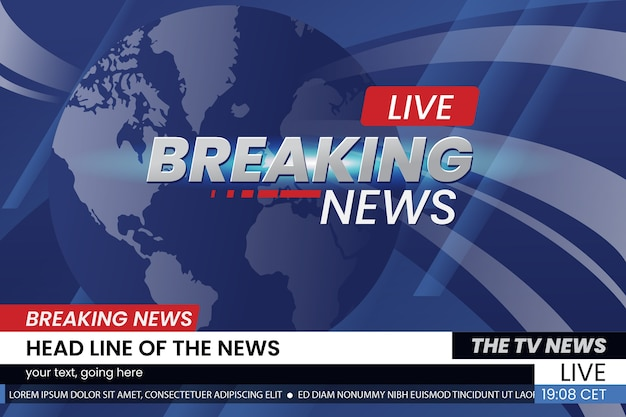 Concepto de noticias de última hora
