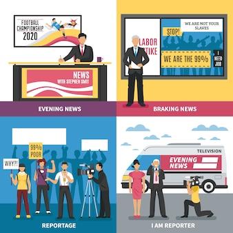 Concepto de noticias