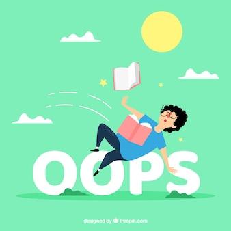 Concepto de la palabra oops