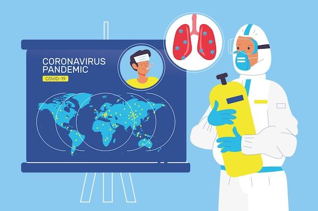 Concepto de pandemia