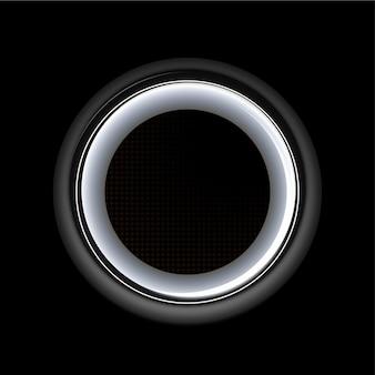 Concepto de pantalla de neón. ilustración de vector de anuncio futurista de luz láser