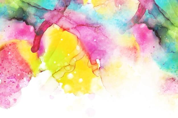 Concepto de papel pintado pintado a mano