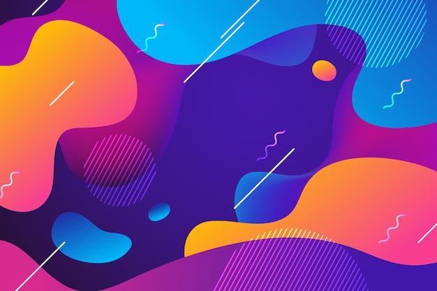 Concepto de papel tapiz de colores