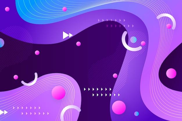 Concepto de papel tapiz decorativo abstracto