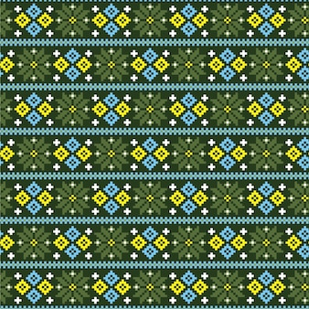 Concepto de patrón songket