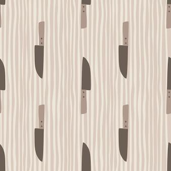 Concepto de patrones sin fisuras de cuchillo