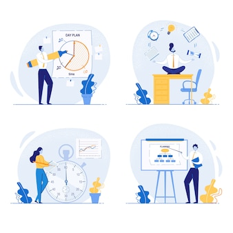 Concepto de planificación y organización de tareas a bordo.