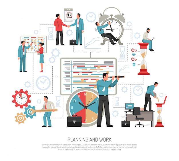 Concepto plano de planificación