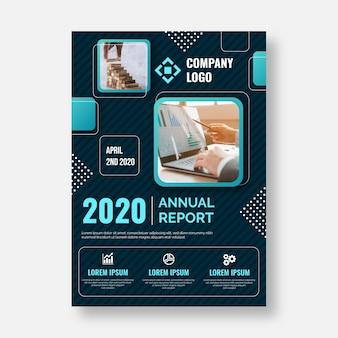 Concepto de plantilla de negocio