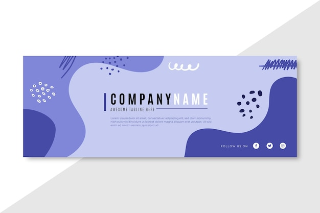 Concepto de presentación empresarial