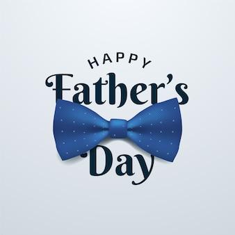 Concepto realista del día del padre