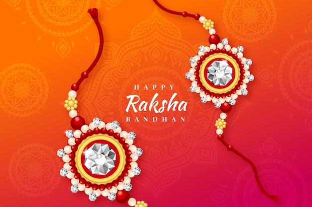 Concepto realista de raksha bandhan