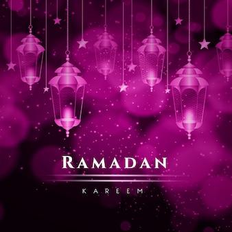 Concepto realista de ramadán