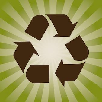 Concepto de reciclaje