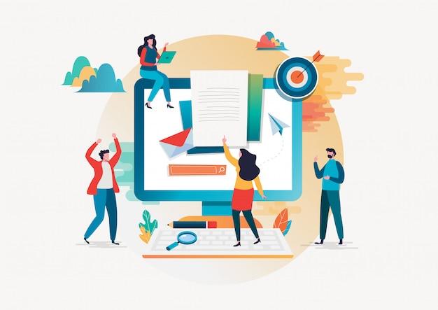 Concepto de reclutamiento. recursos humanos
