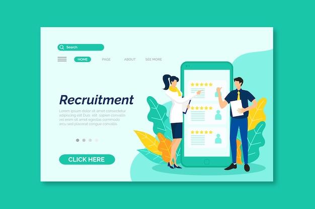 Concepto de reclutamiento