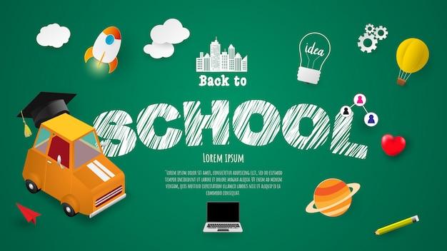 Concepto de regreso a la escuela