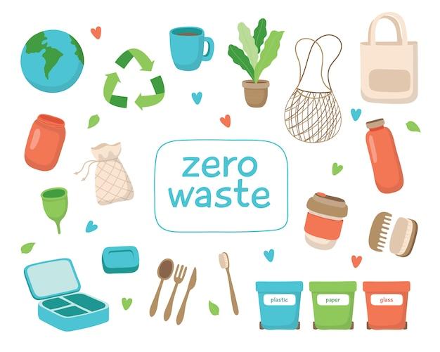 Concepto de residuos cero