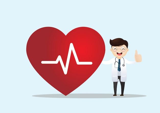 Concepto de salud y cardiología