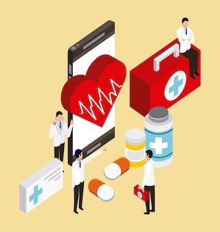 Concepto de salud digital