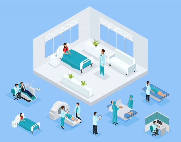 Concepto de salud isométrica