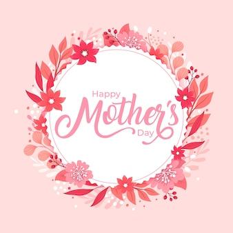 Concepto de saludo del día de la madre