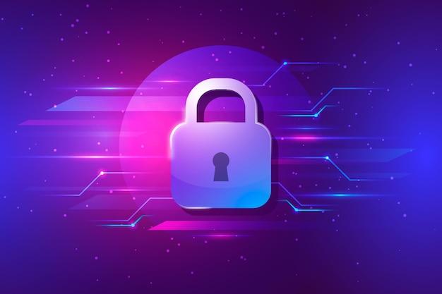 Concepto de seguridad cibernética