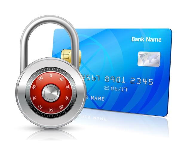 Concepto de seguridad de pagos en línea