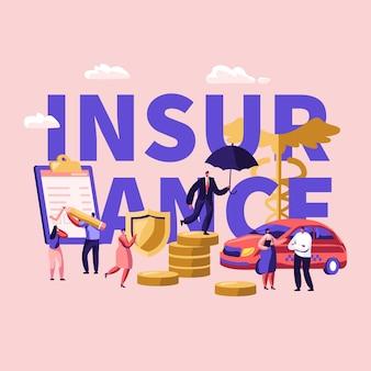 Concepto de seguro médico de salud