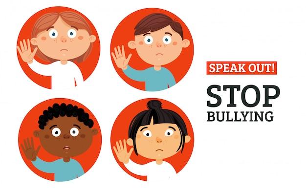 Concepto social y ciberbullying.