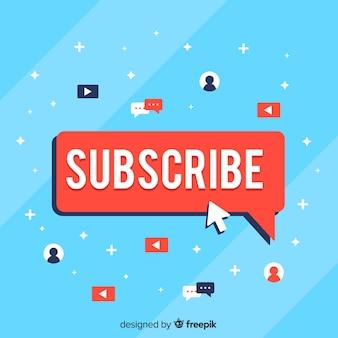 Concepto de subscripción