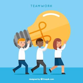 Concepto de teamwork