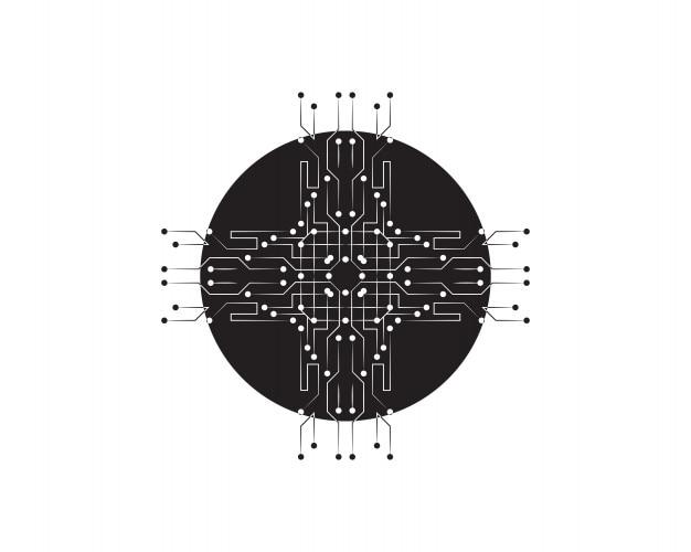 Concepto de tecnología de ciencia digital futuro abstracto