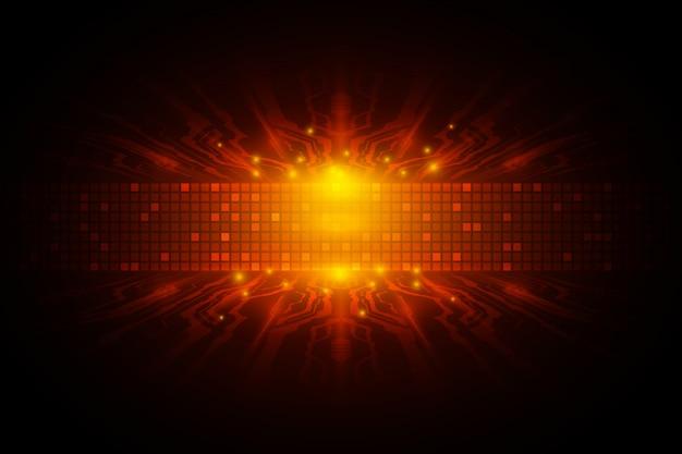 Concepto de tecnología de velocidad digital de vector