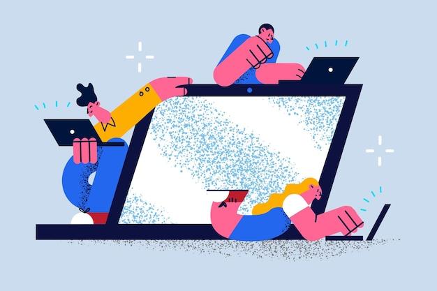 Concepto de tecnologías y administradores de virtualización de red