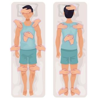 Concepto de terapia de reiki
