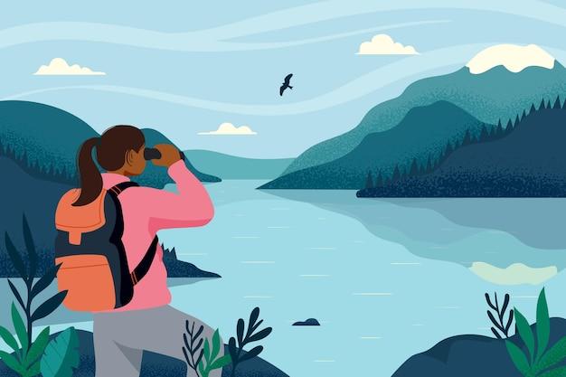 Concepto de turismo ecológico