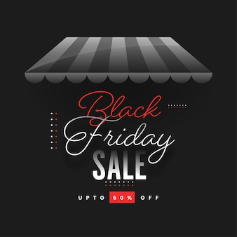 Concepto de venta de viernes negro