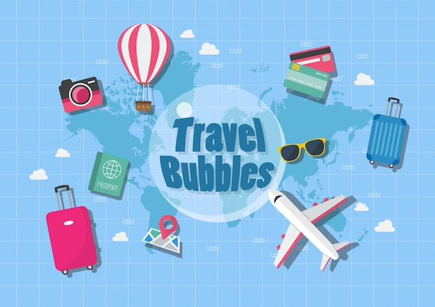 Concepto de viaje