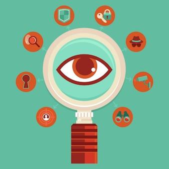 Concepto de vigilancia y control de vectores.