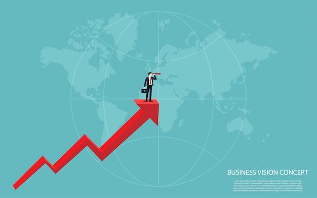 Concepto de visión empresarial 5