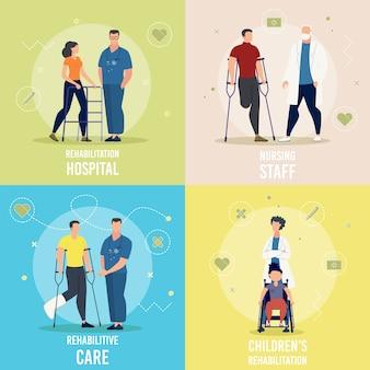 Conceptos de atención médica para personas discapacitadas