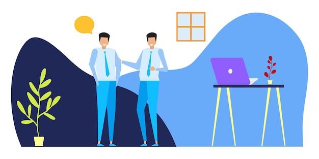 Conceptos comerciales de emprendedores. conceptos de ilustración plana para diseño web