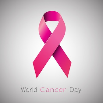 Conciencia del cáncer cinta rosa.