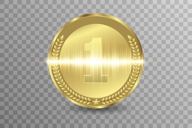 Concurso de premios de ganador, medalla de premio y banner para texto.