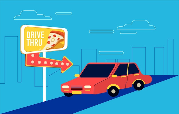 Conducir a través de la señal