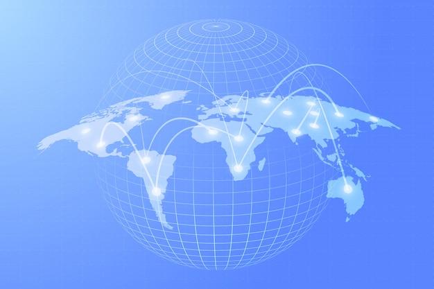 Conexión del concepto mundial
